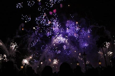 Fogos de Ano Novo no Epcot