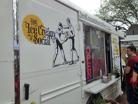food trucks de austin ice cream
