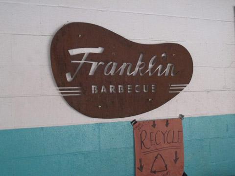Grave esse nome: Franklin Barbecue