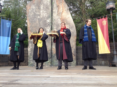 Frog Choir, no Wizarding World of Harry Potter