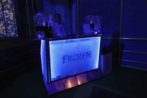 Frozen bar, dá um bom tema pra um ice bar de verdade