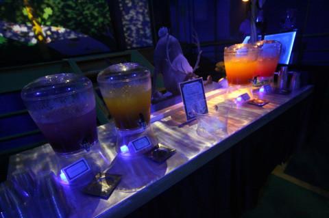Bebidas na dessert party