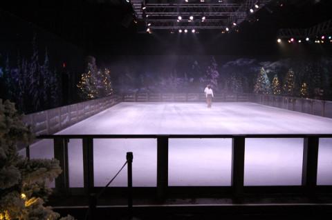 A pista de patinação fechou antes do snowground