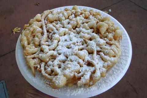 Funnel Cake - foto e dica da Andreza Trivillin