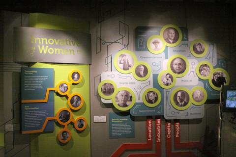 Algumas personalidades na Gallery of Innovators