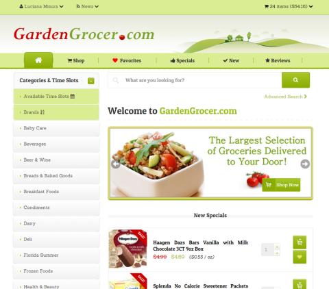 GardenGrocer.com, bem completinho e o mais comentado nos fóruns