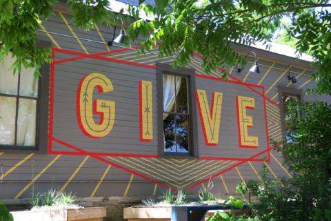 Give: doe...alguma coisa boa