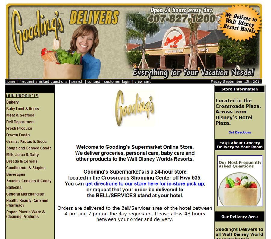 Supermercados que entregam nos hotéis da Disney