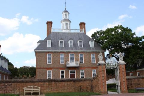 Governor's Palace de perto