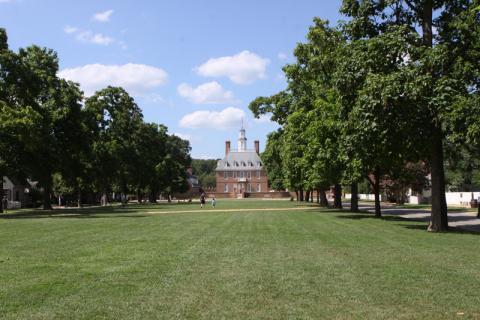 Governor's Palace, que foi reconstruído