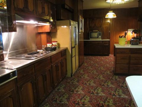 Outro ângulo da cozinha de Elvis