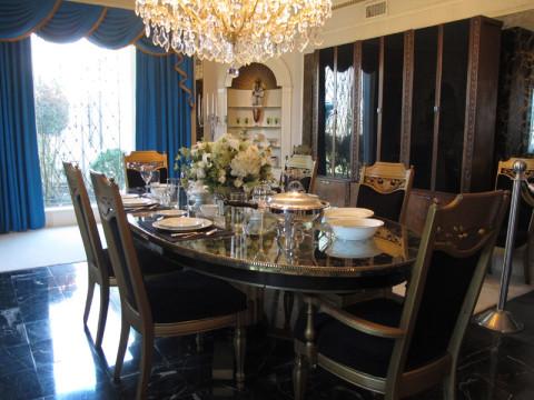 Sala de jantar em Graceland