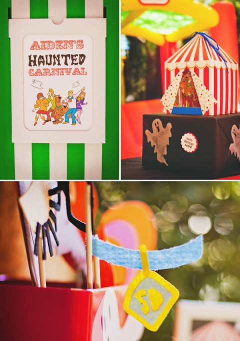 Festa de Halloween do Scooby Doo!