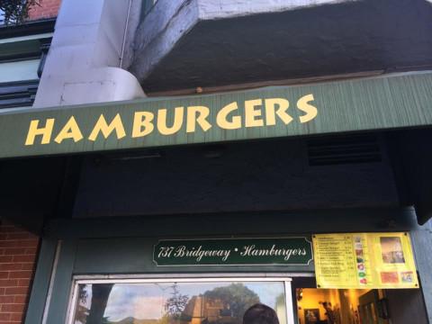 Lanchonete Hamburgers em Sausalito