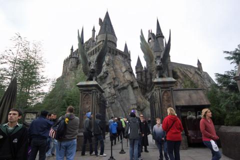 Entrada para Harry Potter and the Forbidden Journey - a melhor de todas