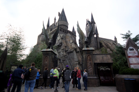 Entrada de Harry Potter and the Forbidden Journey