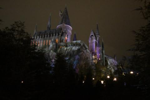 Chegando em Wizarding World of Harry Potter: Hogwarts