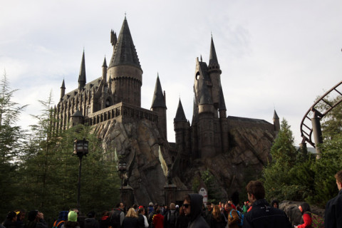 Hogwarts, no Wizarding World of Harry Potter:  Hogsmeade
