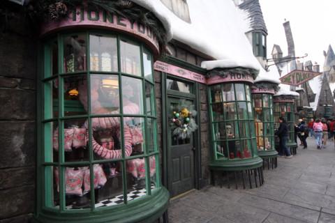 Honeydukes, a loja de doces em Hogsmeade