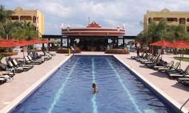 Último dia no hotel em Playa del Carmen