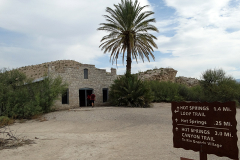 Hot Springs Trail, tranquilinha
