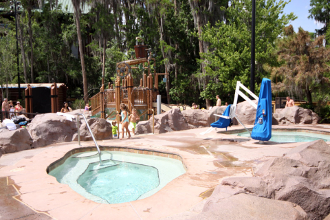 Hot tubs no Wilderness Lodge