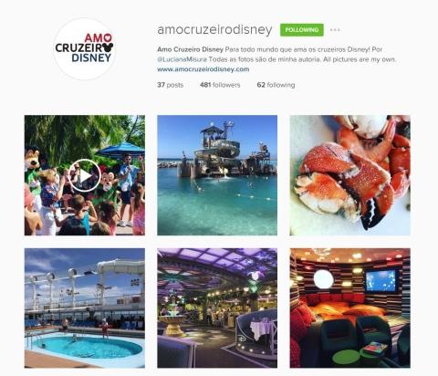 Me siga no instagram @amocruzeirodisney