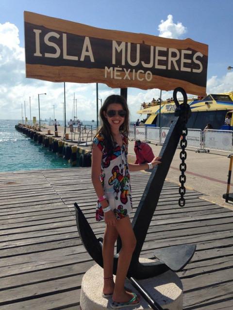 Isla Mujeres = lugar lindo demais