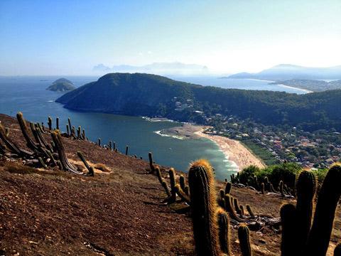 """Itacoatiara vista do alto do Costão, foto do meu irmão Gustavo """"Camarão"""" Bordallo"""