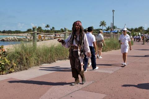 Jack Sparrow estava procurando o navio