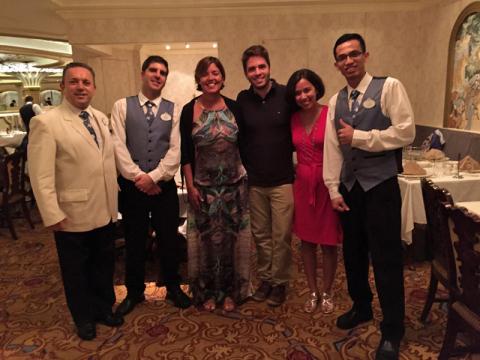 Jaime, Bruno, Claudia, Thiago, eu e Yoga, esses três foram ótimos!