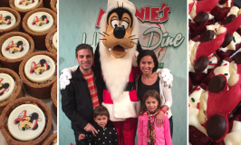 Jantar de Natal da Minnie no Hollywood and Vine