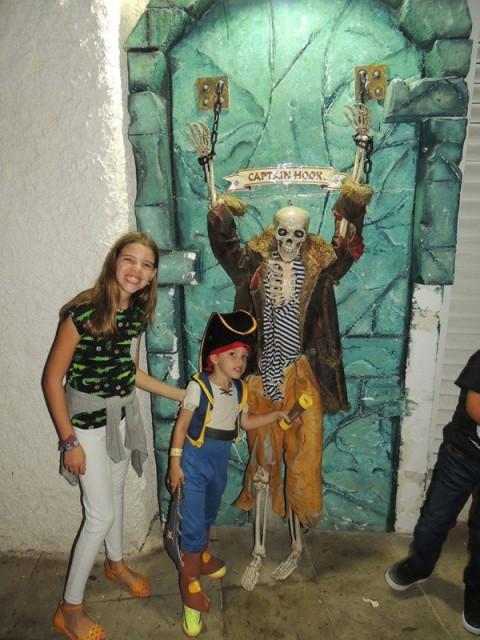 No passeio dos piratas em Cancún