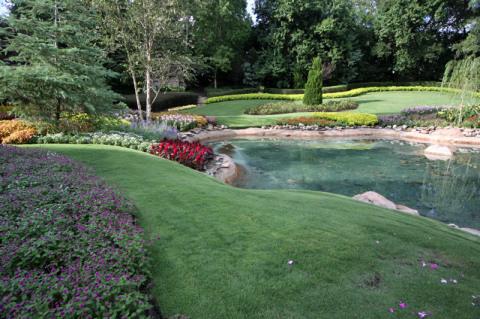 Jardim no Canadá