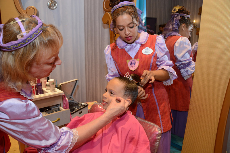 Dia de Princesa na Disney: Bibbidi Bobbidi Boutique