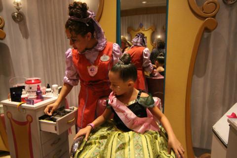 Prendendo a faixa de Birthday Princess
