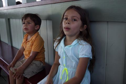 Julia e Eric, dois texanos com calor no Canadá