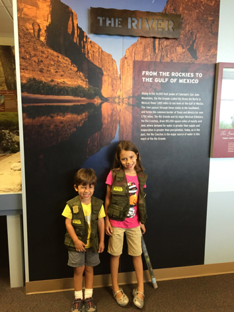 Julia e Eric: Junior Park Rangers no Big Bend National Park