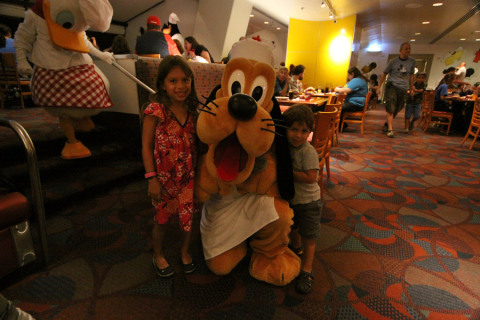 O Pluto muito simpático