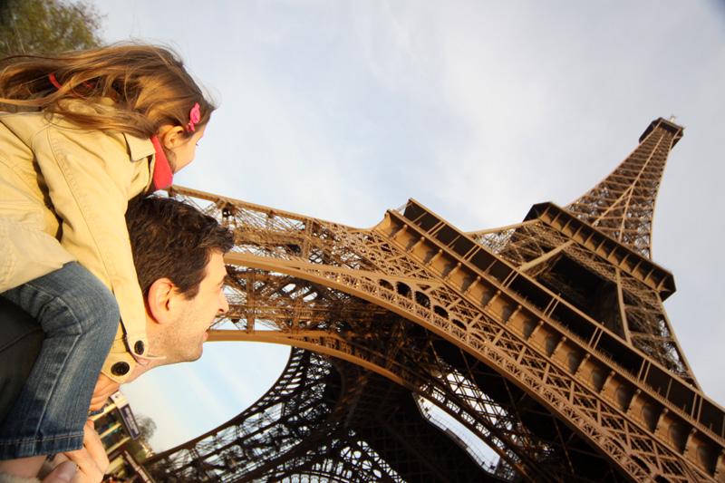 Torre Eiffel e Museu D'Orsay