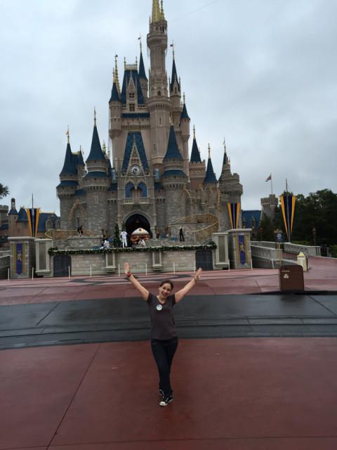 Magic Kingdom vazio em plena semana do Natal: sim, as 7:20 da manhã!