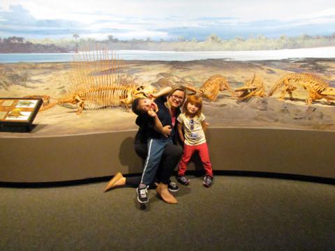 Nós no museu