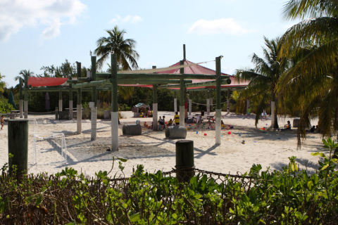 O kids club em Castaway Cay
