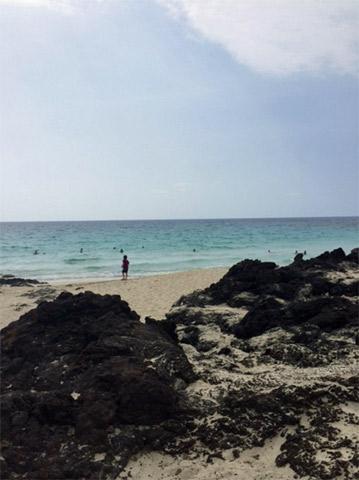 Kua Bay em Big Island