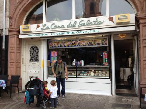 Parada para um sorvetinho italiano na Casa del Gelato