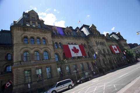 Langevin Block, onde fica o escritório do Primeiro Ministro