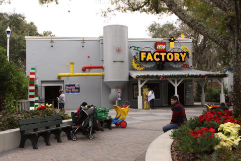 Lego Factory, no momento fechada