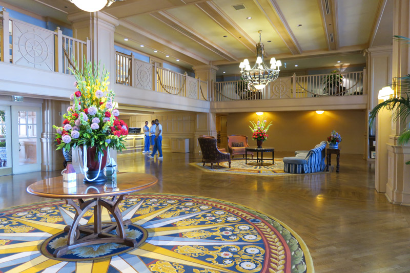 Lobby do Disney's Yacht Club Resort