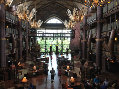 Lobby do Animal Kingdom Lodge, Jambo House