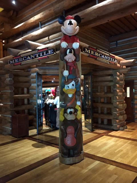 A entrada da lojinha no Lobby